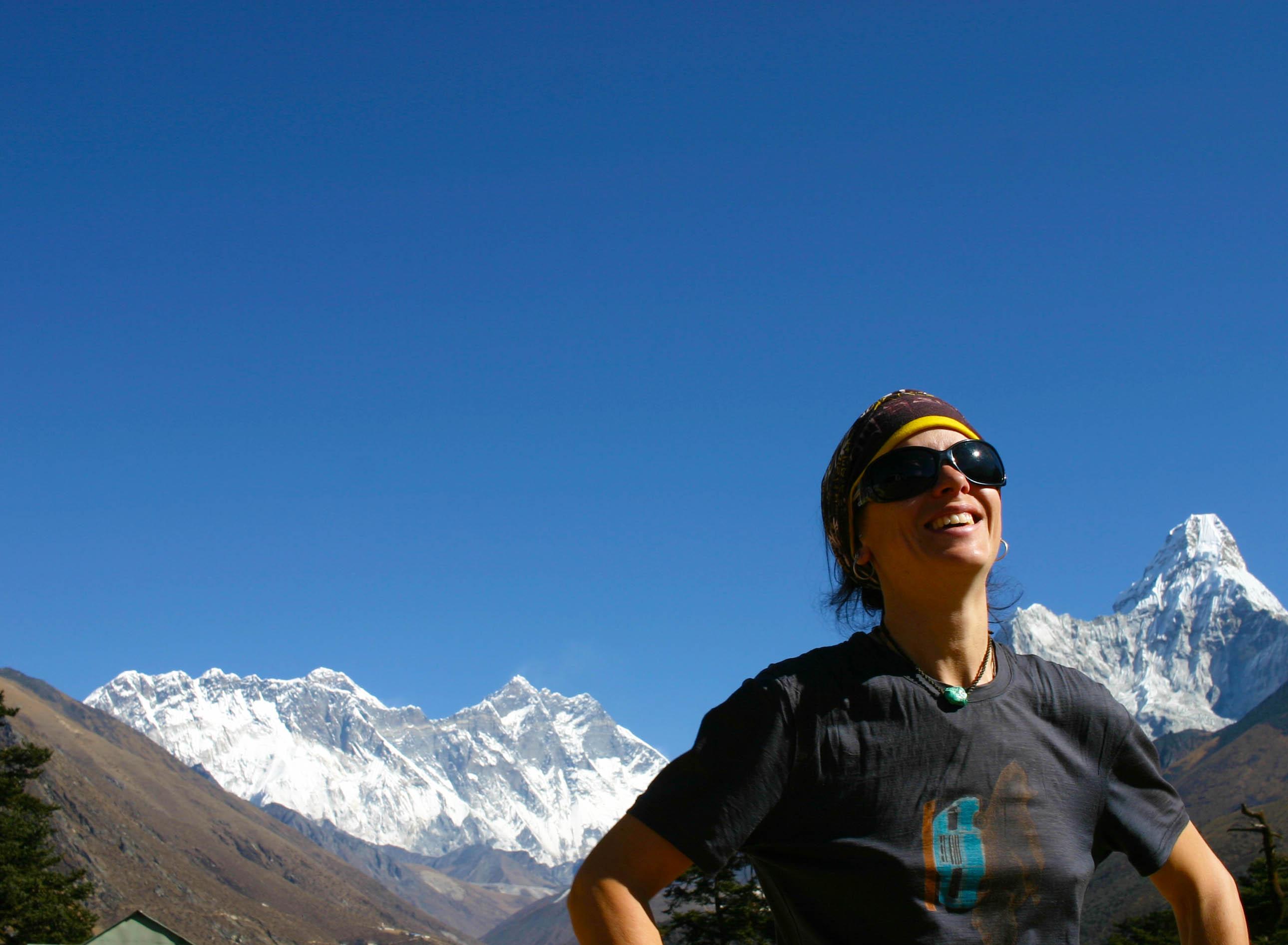 Berta Tengboche Everest