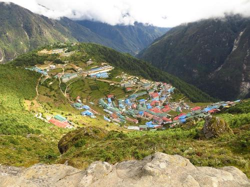 Everest Region. Namche Bazar